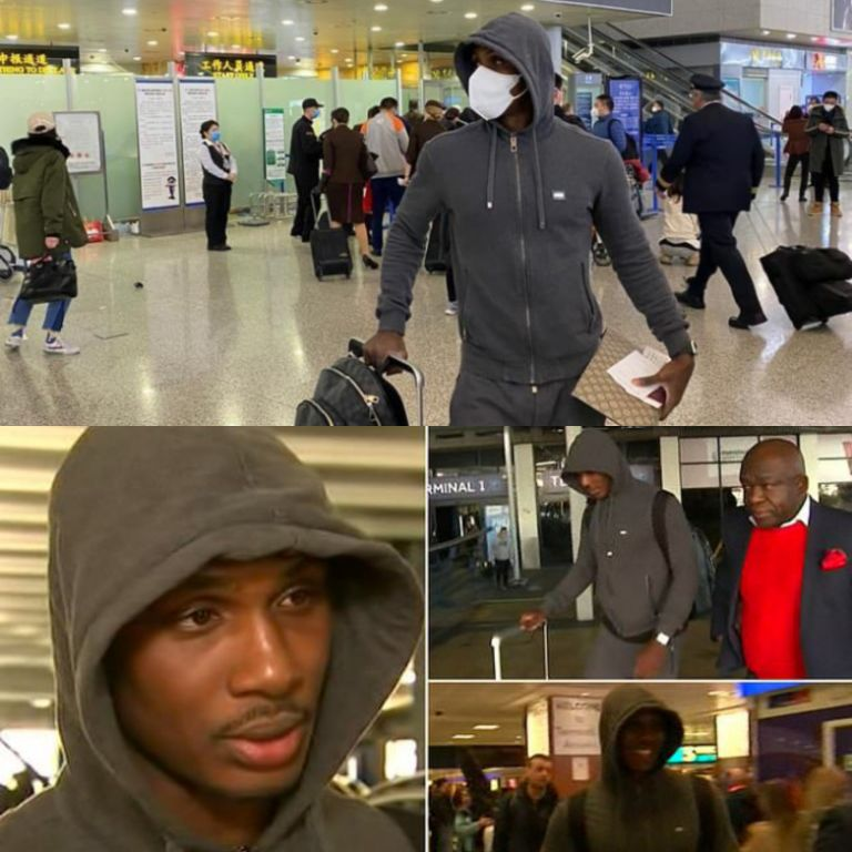 Ighalo Arrives in England; Eager to Work Hard For Man United's Success