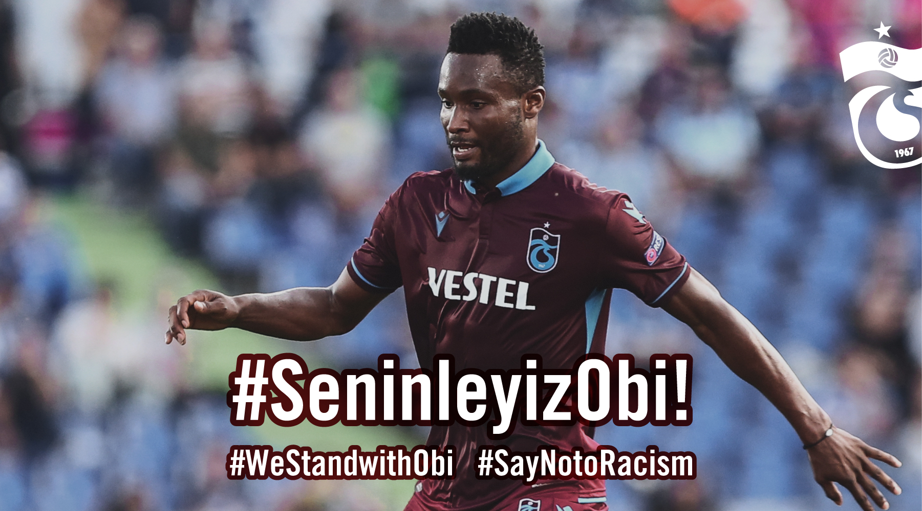 'We Are All One And Equal': Mikel Responds To Racist Abuse By Fenerbahce Fans