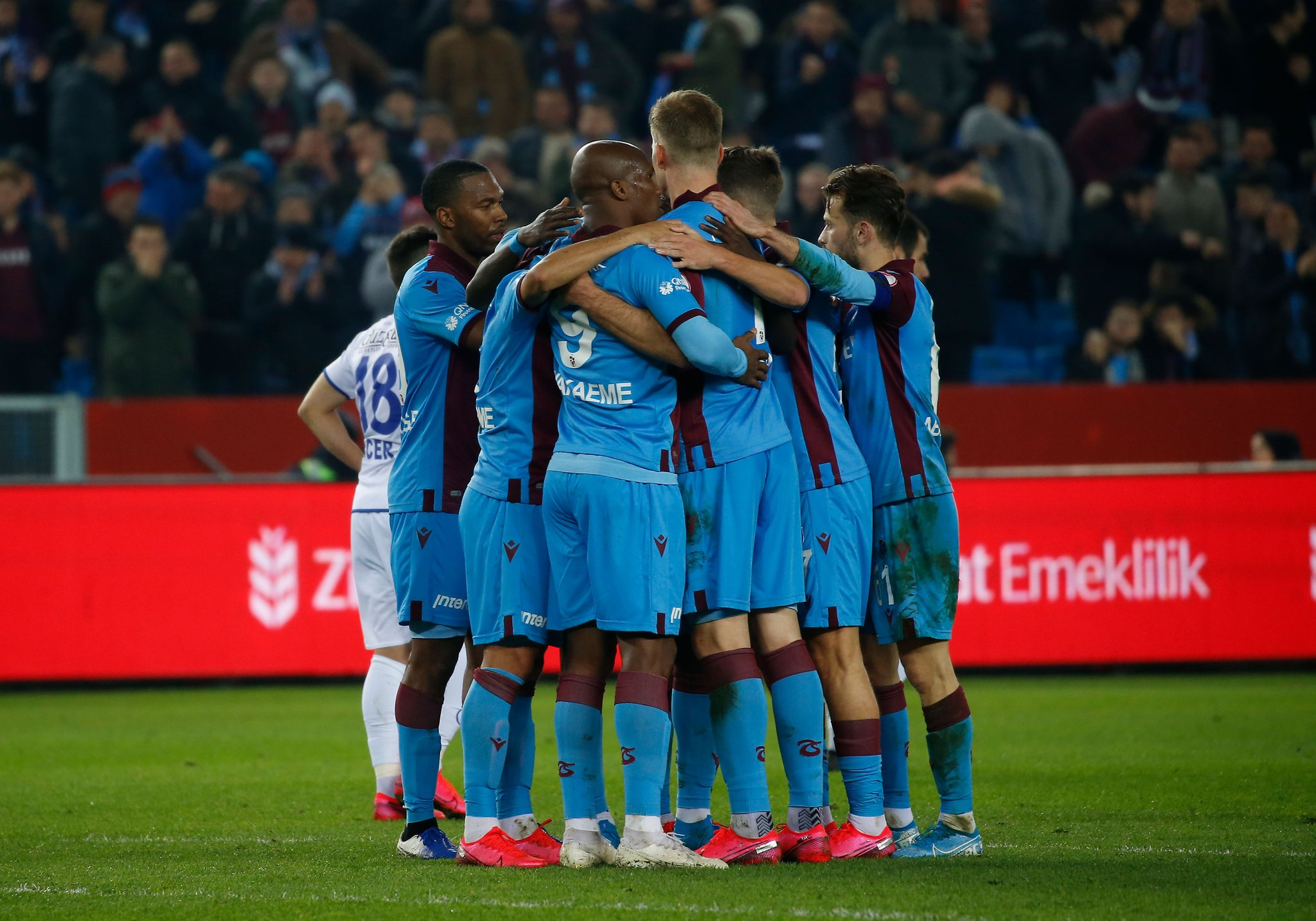 Nwakaeme On Target, Mikel Benched As Trabzonspor Secure Commanding Lead In Turkish Cup 1st-leg