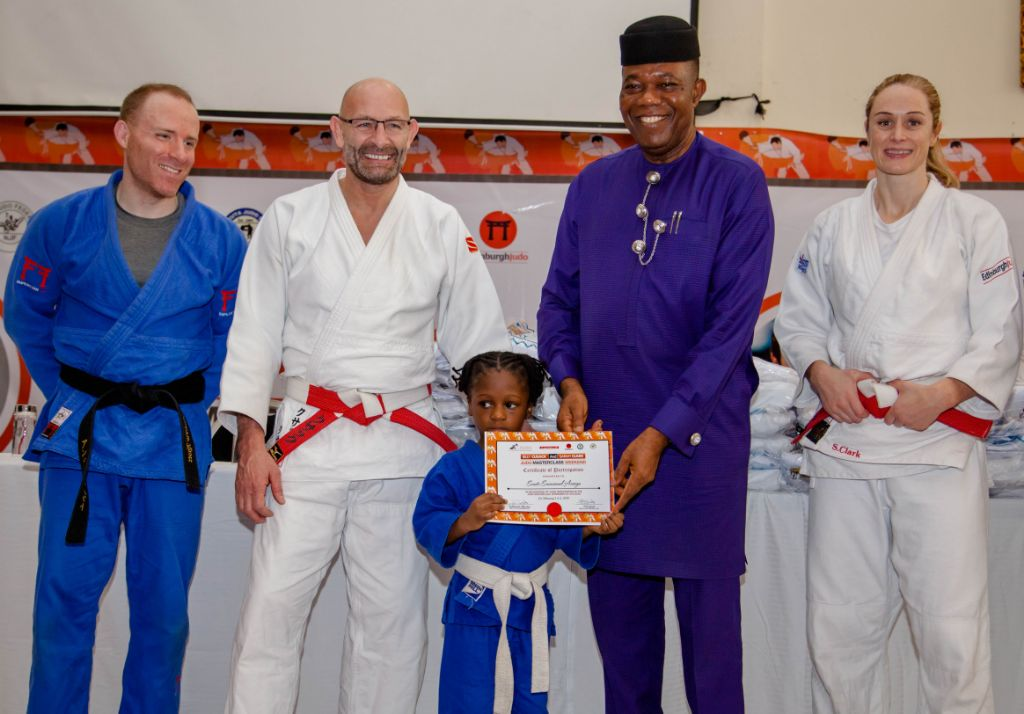 Accugas Partners Edinburgh Judo Club, Others to Stage 1st Nigeria Judo Masterclass