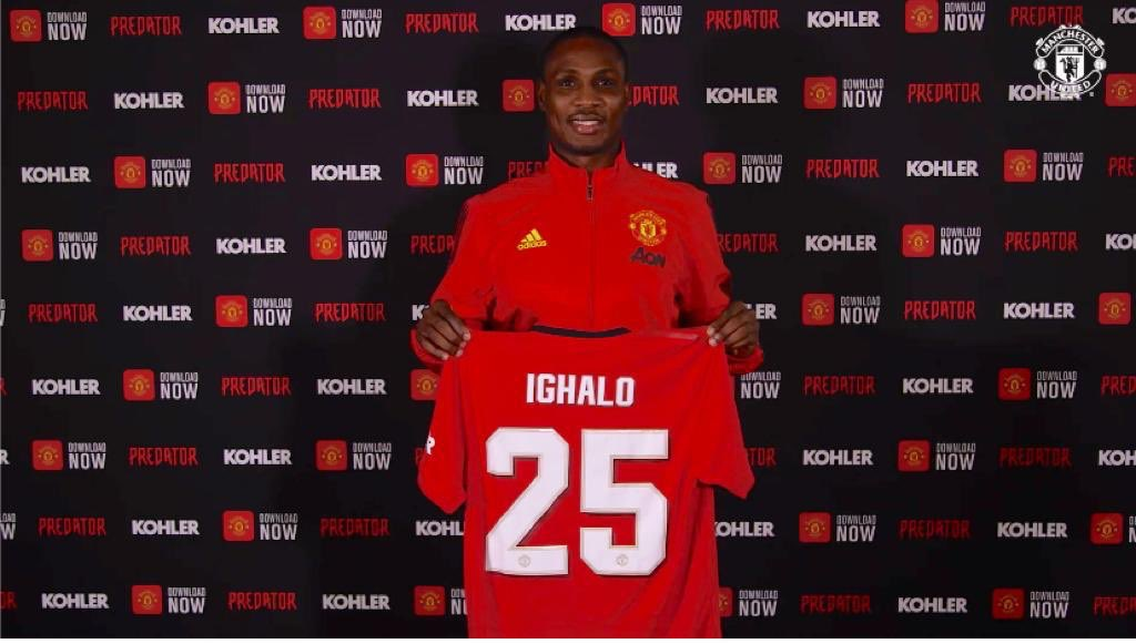 Ighalo Trains With Manchester United Teammates  Ahead Chelsea Game