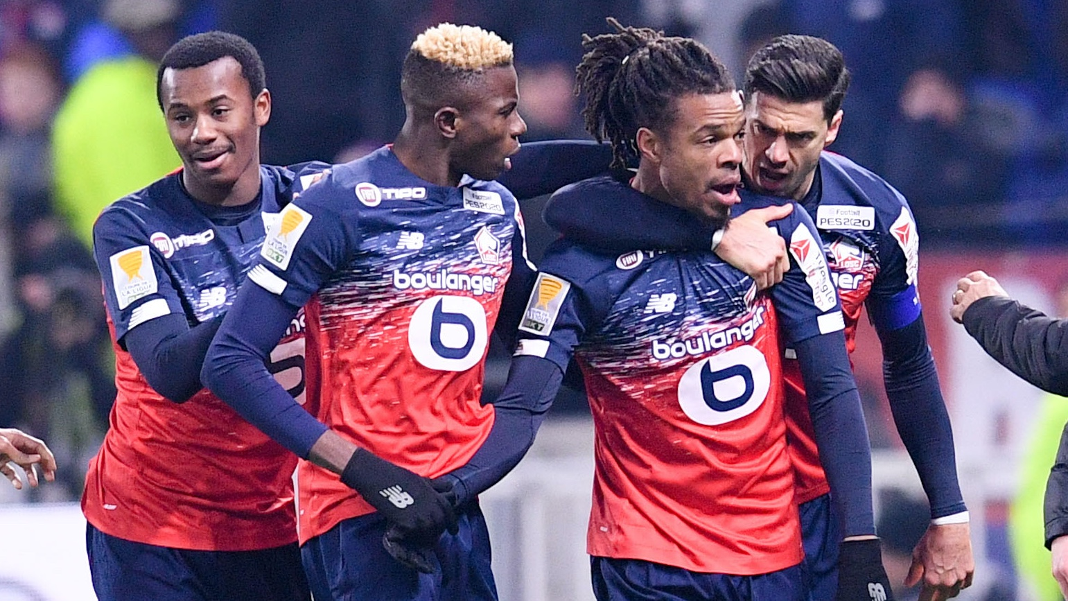 Lille Striker Remy Hails Partnership With Osimhen