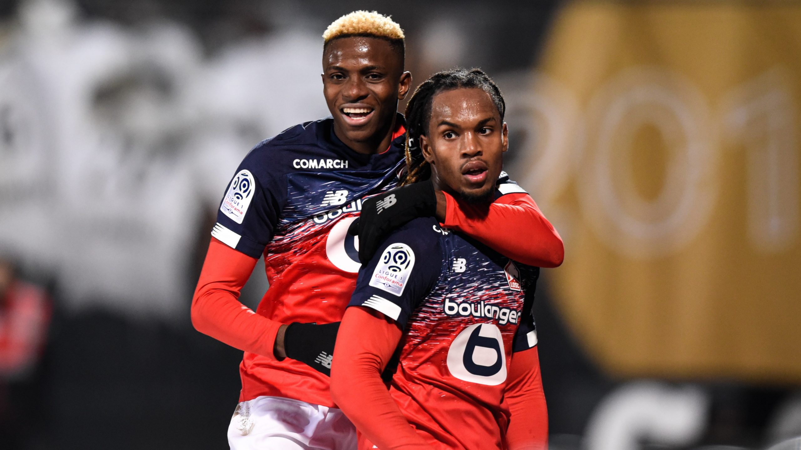 Lille Salute GoalScorers Osimhen, Sanches In Win vs Angers