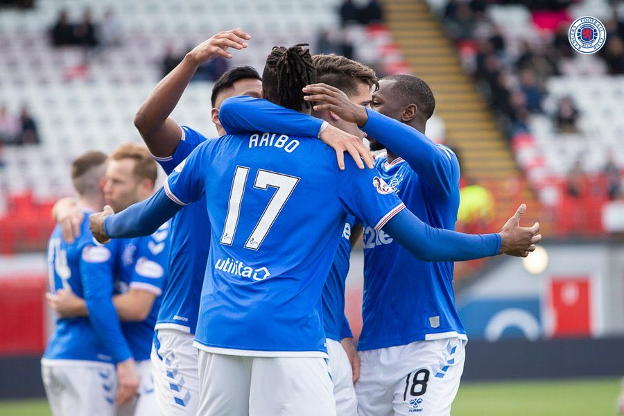 Aribo Thrilled Scoring In Scottish Cup Win At Hamilton Academicals
