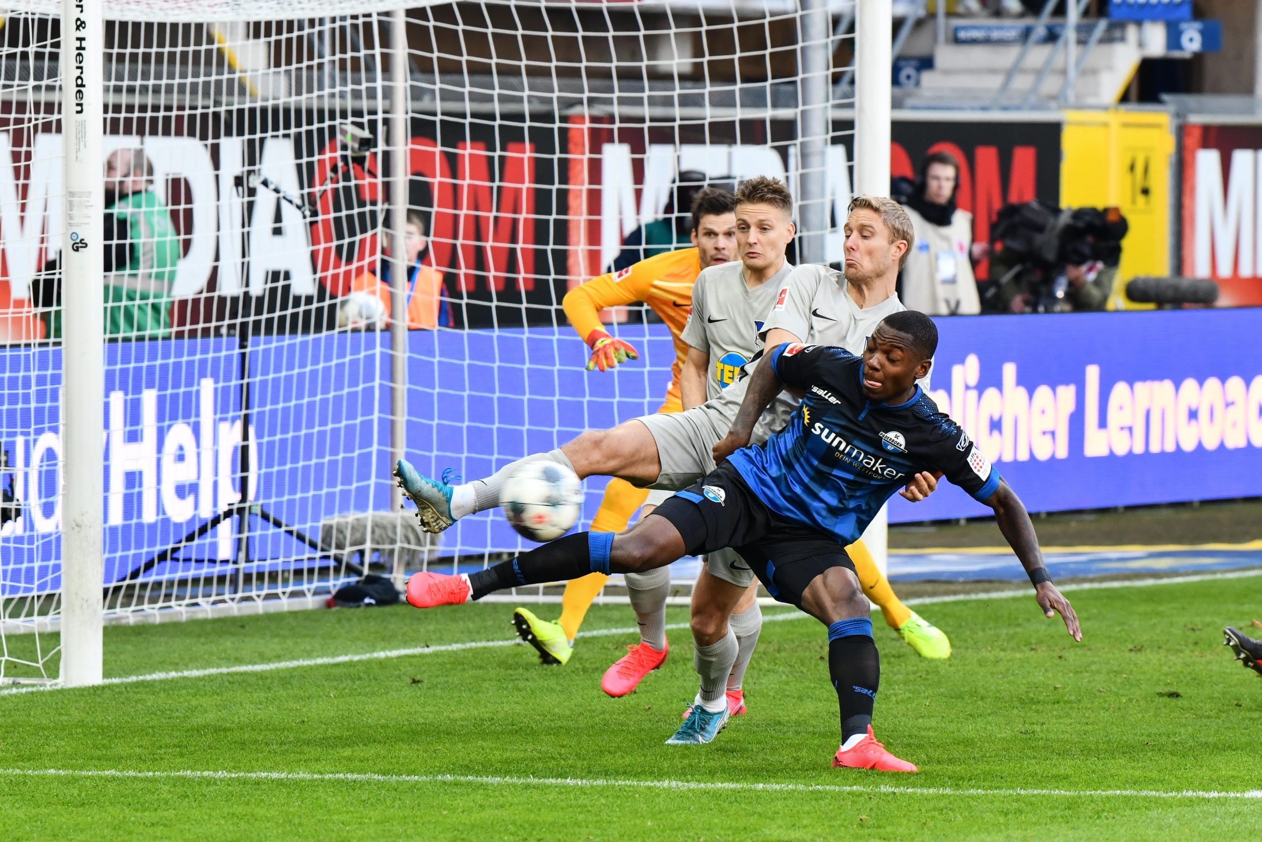 Bundesliga: Collins Scores Own Goal In Paderborn Home Loss To Hertha Berlin