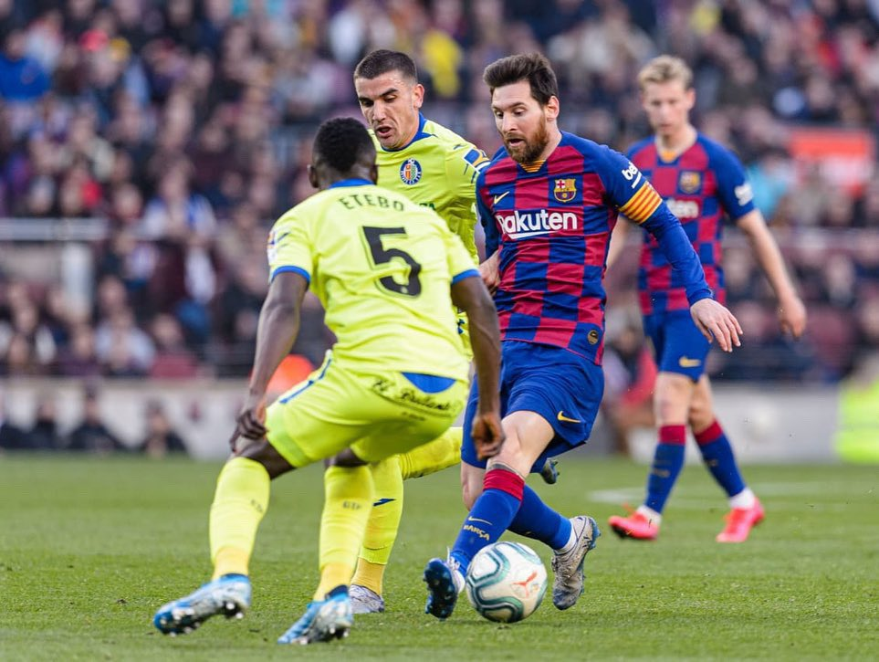 Etebo Disappointed With Getafe Defeat At Barcelona