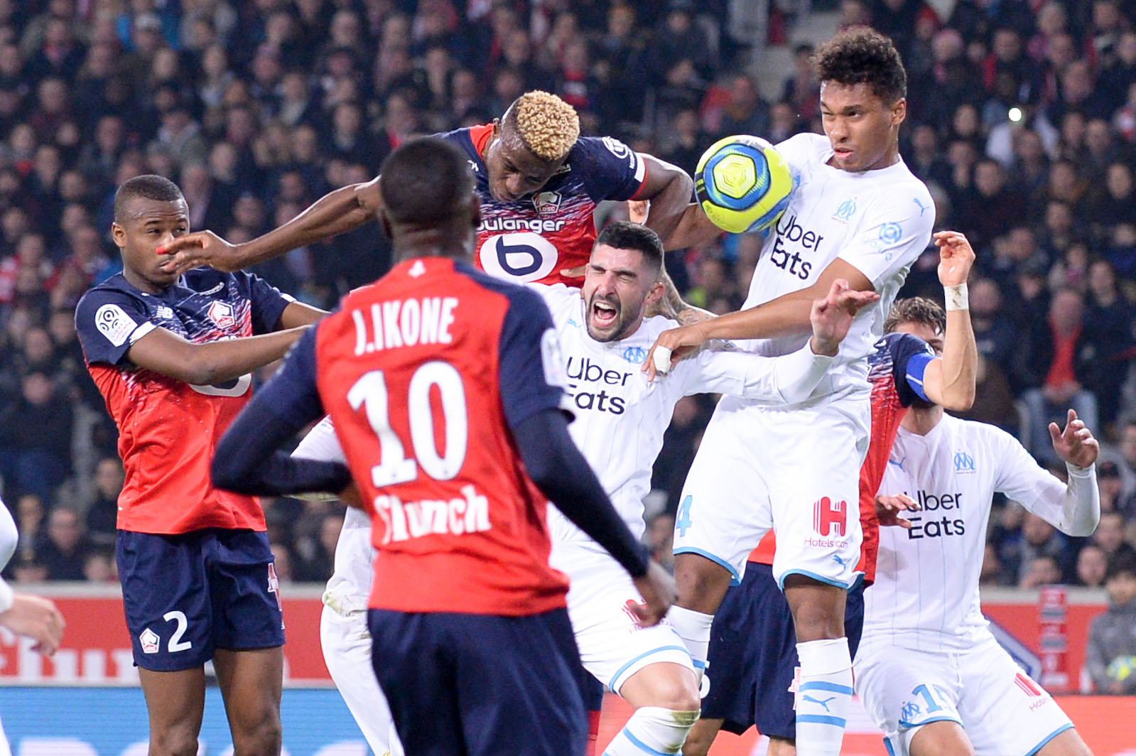 Enyeama Applauds Osimhen's Superb Goal In Lille's Home Defeat To   Marseille