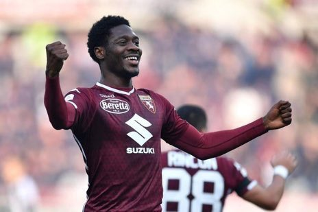 Aina Set For 50th Serie A Appearance As Torino Tackle  AC Milan