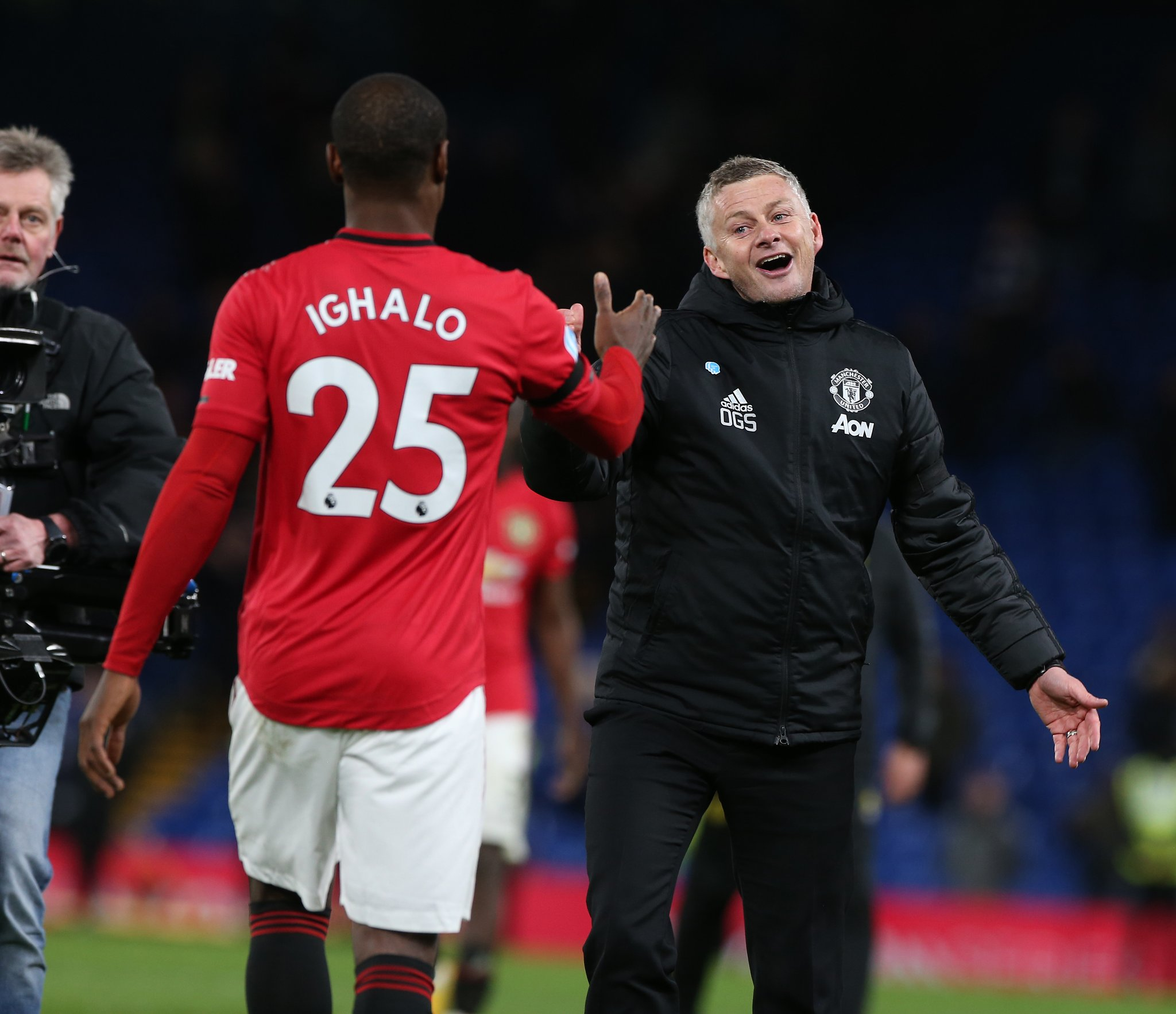 Ighalo Gets Good Ratings In Man United Debut vs Chelsea