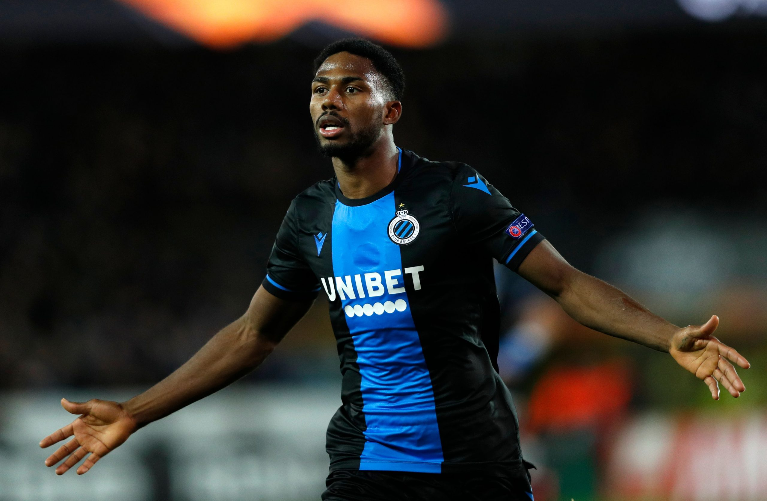 Europa: Dennis Voted Man of The Match In Club Brugge Draw vs Man United