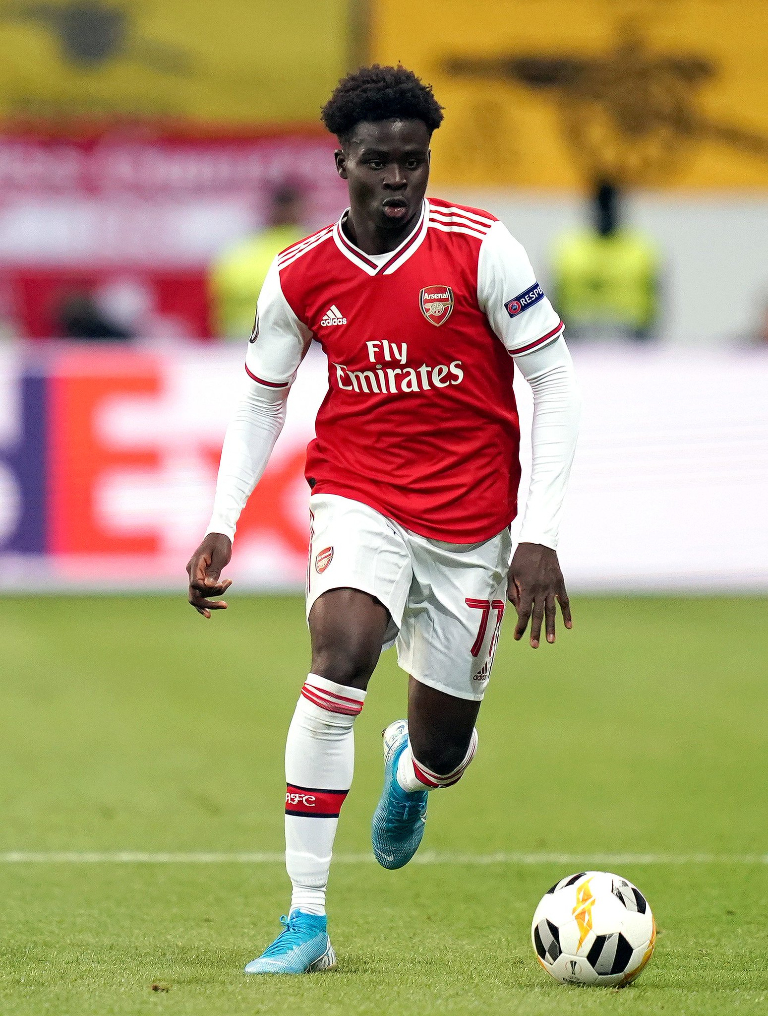 Saka Snubbed In Premier League's Young Player Of The Season Nominations