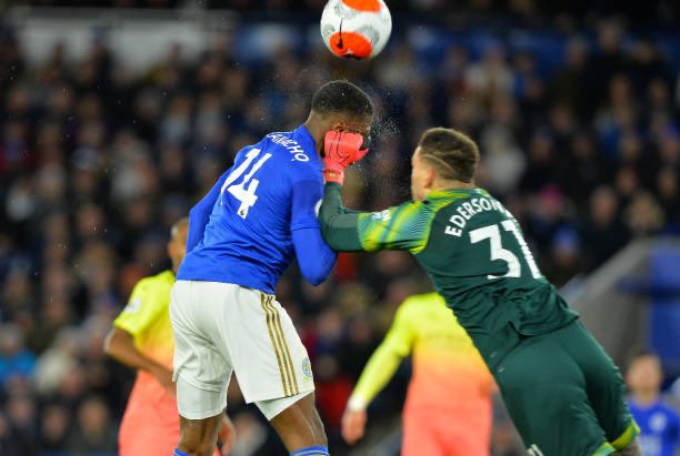 Leicester City Fans Blast  VAR As Ederson Escapes Red Card For Iheanacho Challenge