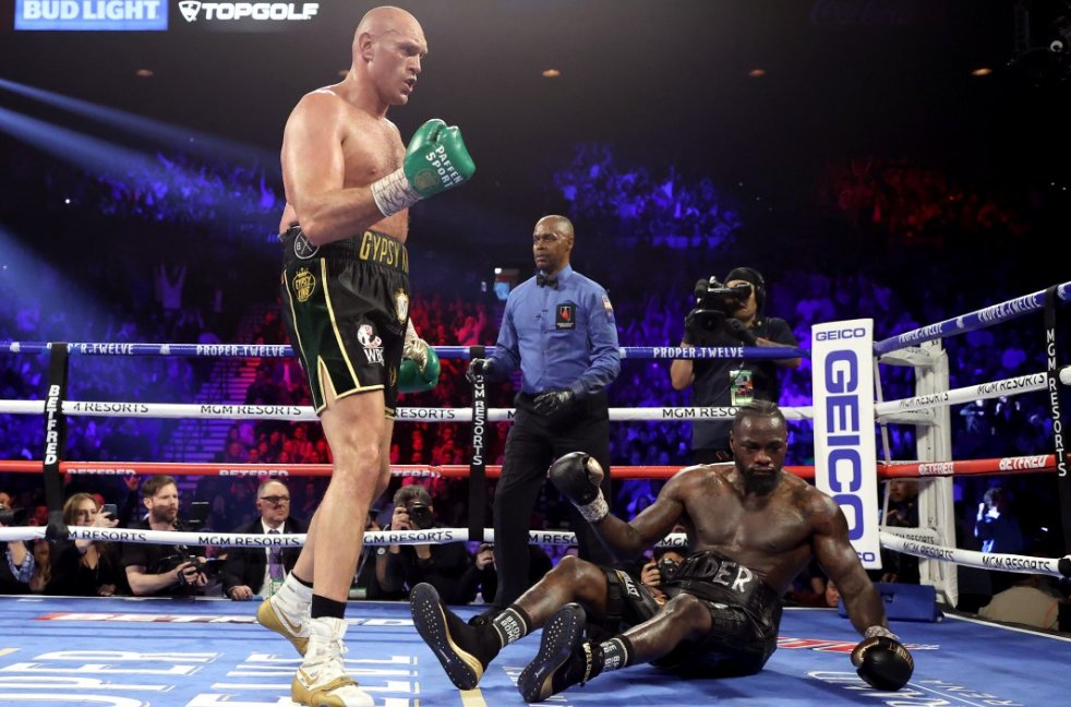 Fury Vs Wilder Trilogy Set To Take Place On October 3