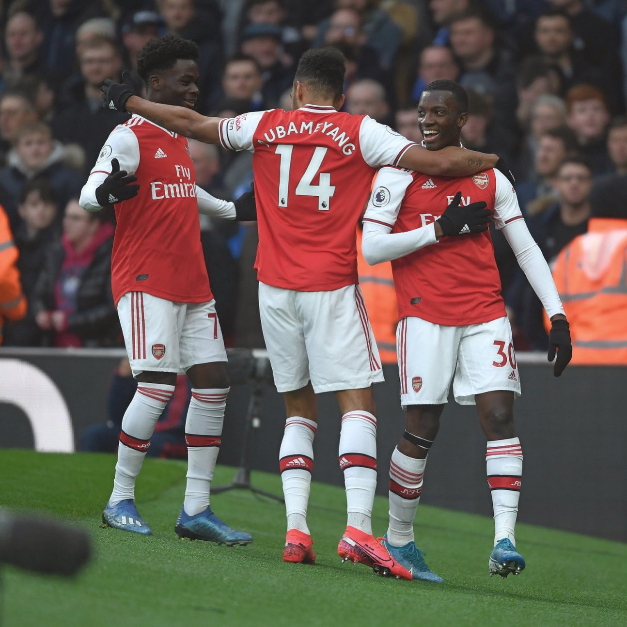 Saka Excited With 10th Arsenal Assist In Everton Win