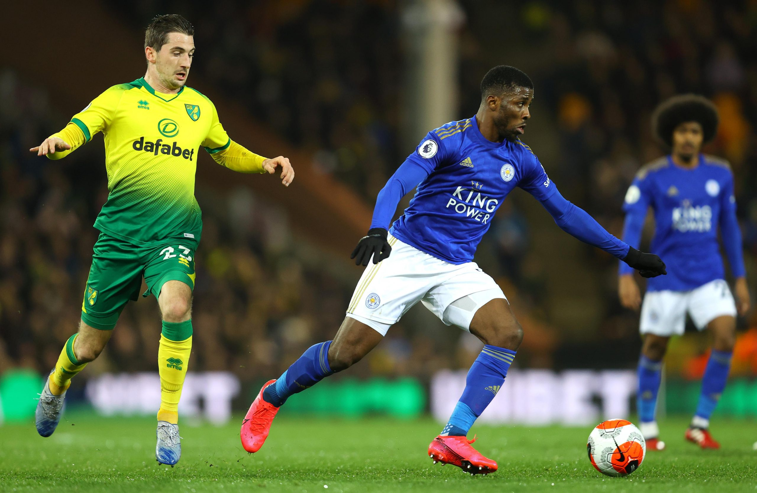 Iheanacho Disappointed With Leicester City  Defeat To Norwich
