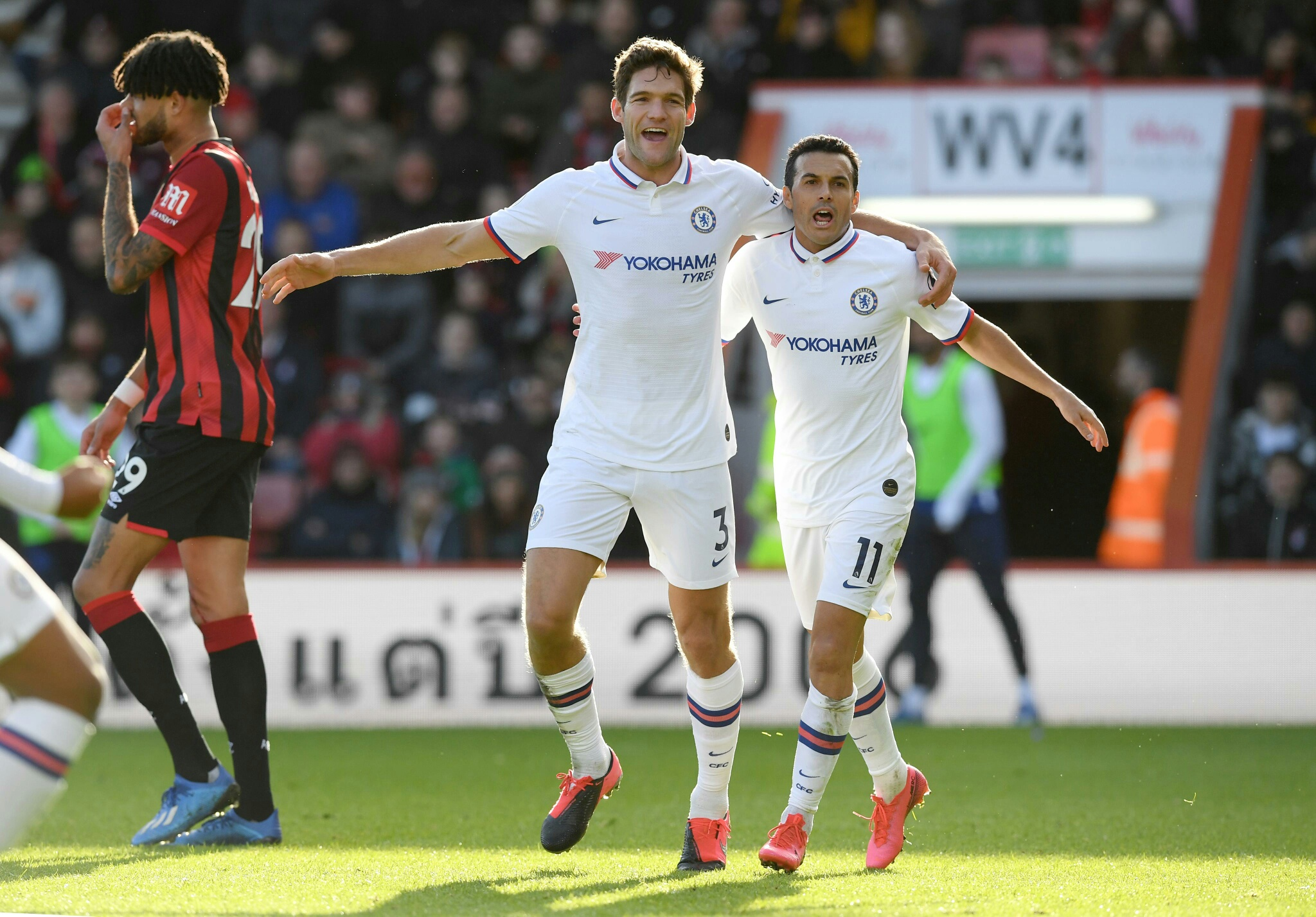 EPL: Alonso Double Rescues Chelsea Point Against Bournemouth