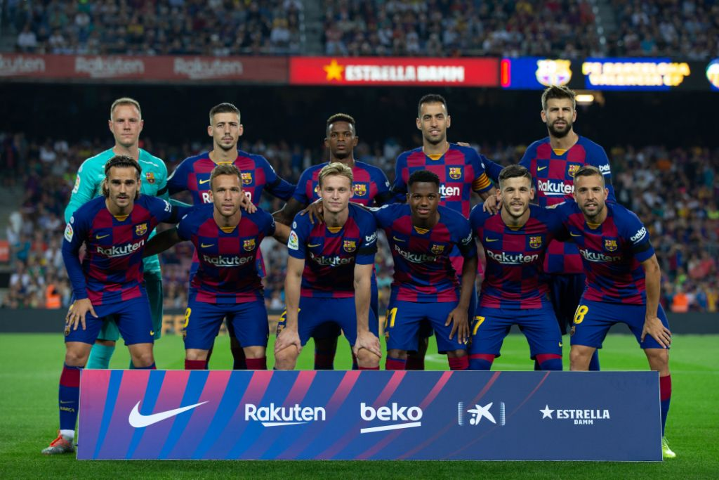 Barcelona's Doubles Success: The Reduced Gap To Real Madrid And Espanyol Are Relegated