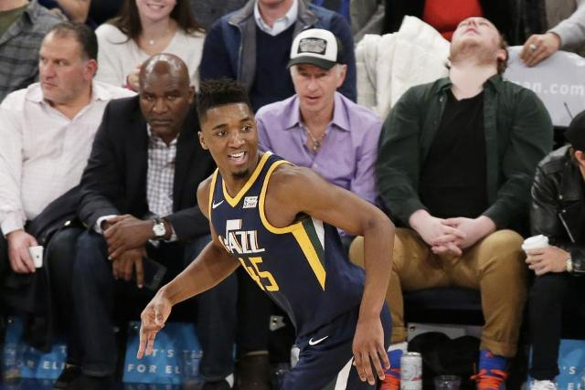 Jazz And Donovan Mitchell To Host Wizards At Vivint Smart Home Arena