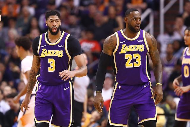 Lakers And Anthony Davis To Host Suns At STAPLES Center