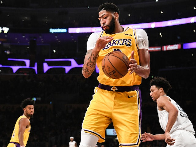 Lakers And Anthony Davis Will Host Spurs At STAPLES Center