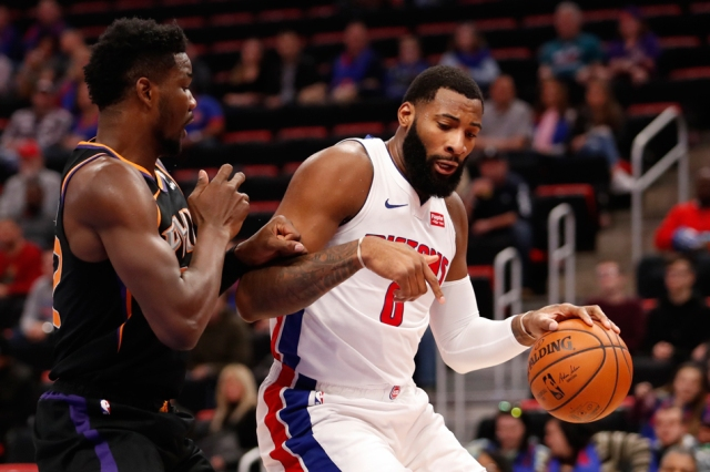 Pistons And Andre Drummond Will Host Suns At Little Caesars Arena