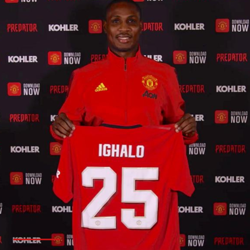 Ighalo: How I Had Sleepless Night In China Sealing Man United Deal