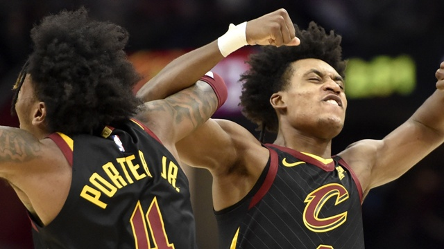 Tristan Thompson Finishes With 27 Points And 11 Rebounds As Cavaliers Beat Hawks 127-105 At Home