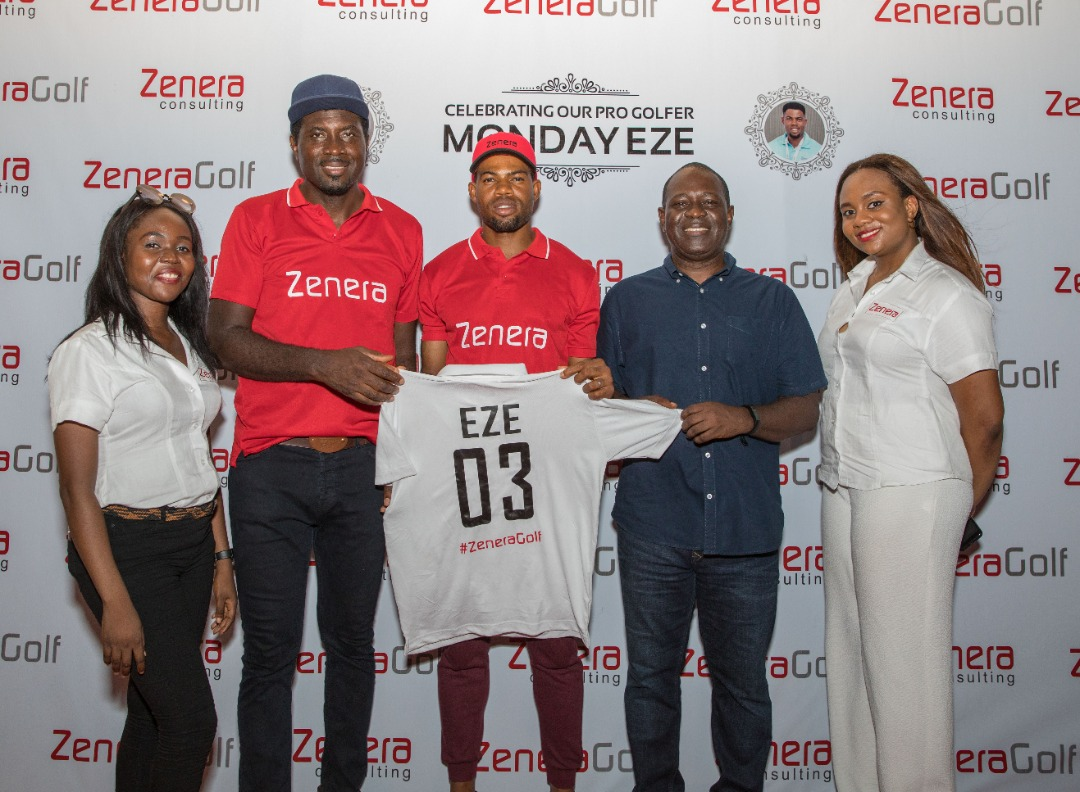 Zenera Golfer Eze Turns Pro, Gets Official Endorsement