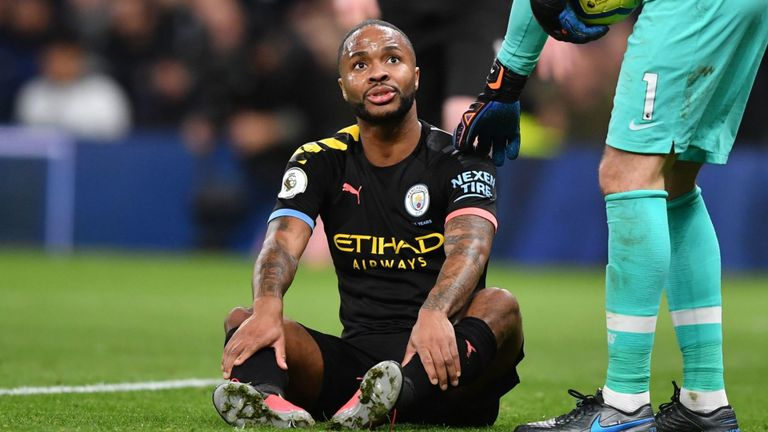 Sterling Ruled Out of Man City vs West Ham Clash With Hamstring injury