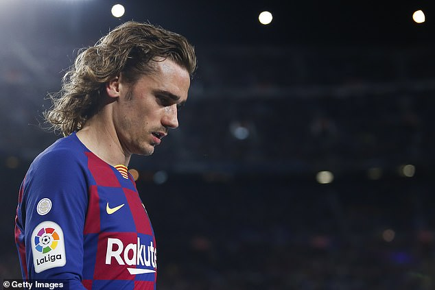 Barcelona To Put Griezmann Up For Sale