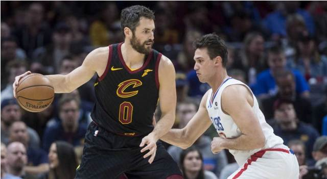 Cavaliers And Kevin Love To Host Celtics At Quicken Loans Arena