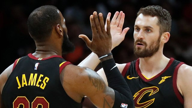 Cavaliers And Kevin Love To Host Jazz At Quicken Loans Arena