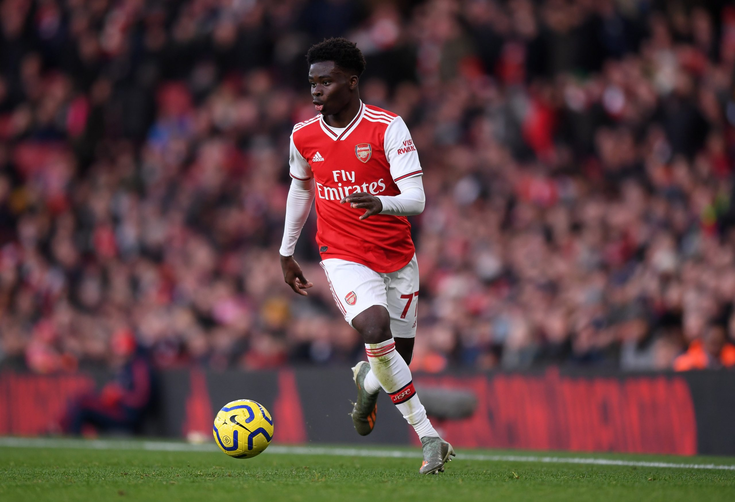Arteta: Arsenal Working Hard To Keep Saka