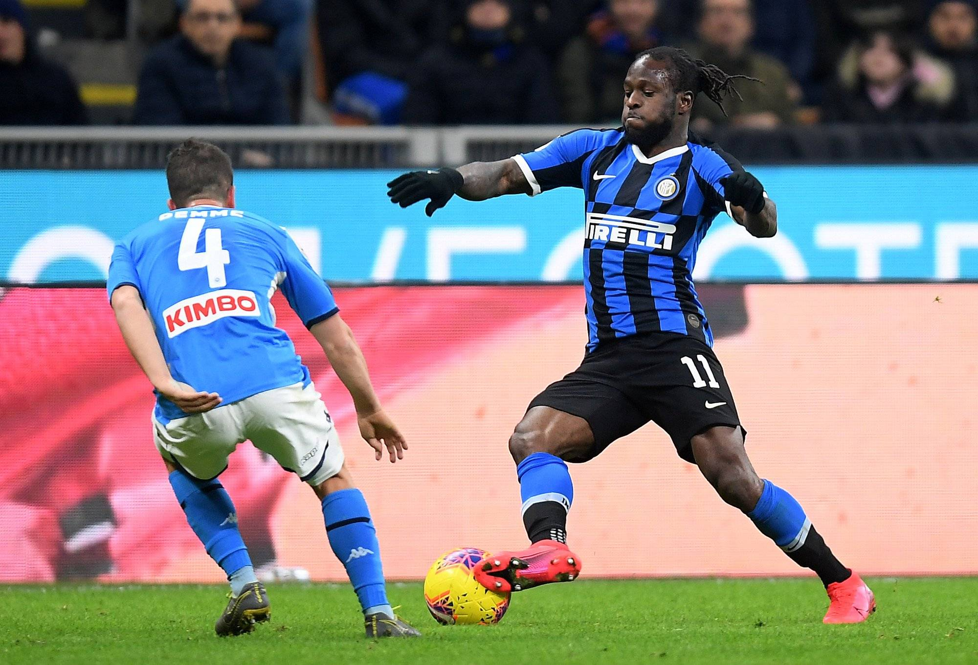 Coppa Italia: Moses To Miss Inter Milan's Trip To Napoli Due To Injury