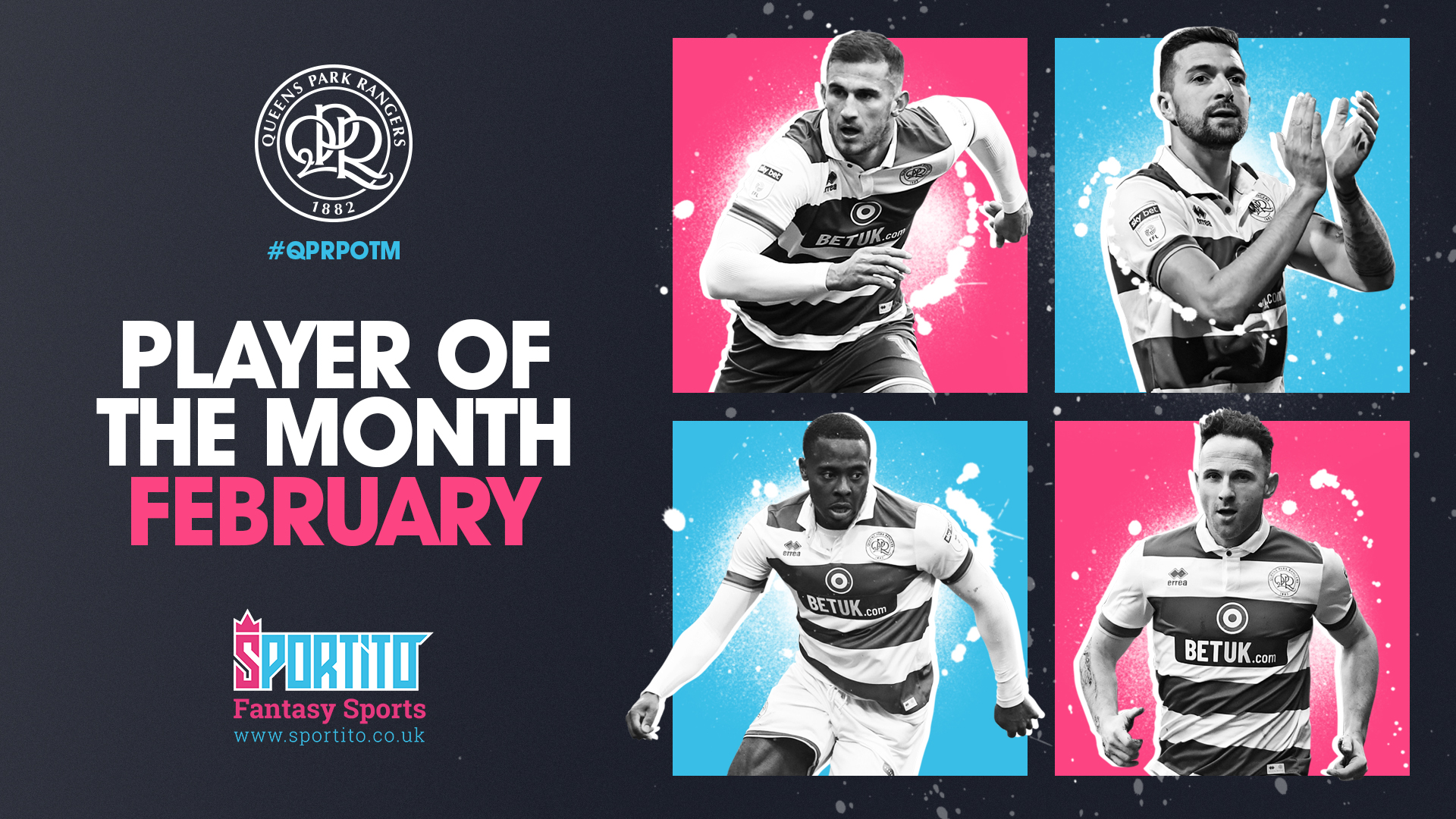 Osayi-Samuel Nominated For QPR's February Player Award