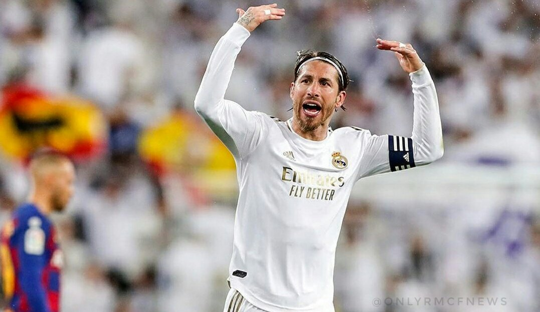 Ramos Hopes Real Madrid Appeal His Red Card Against Man City