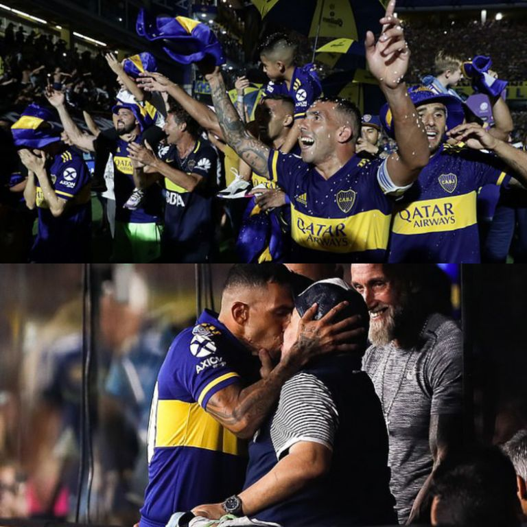 Tevez: I kissed Maradona To Tap Boca's League Title-Winning Luck