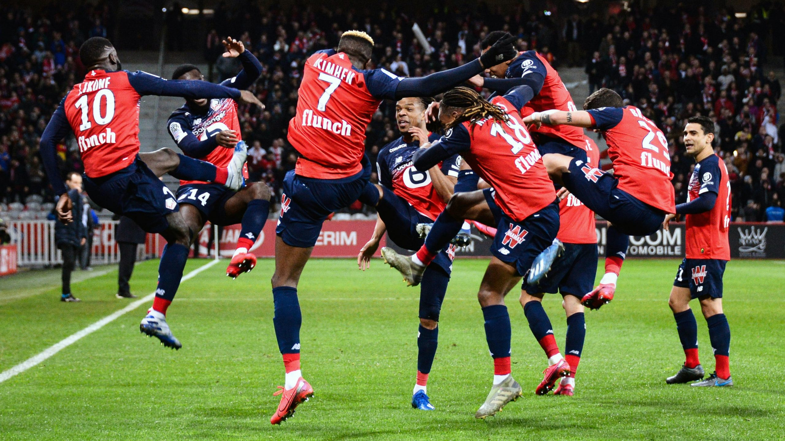 Osimhen Relishes 'Solid' Lille Performance In Home Win Against Lyon