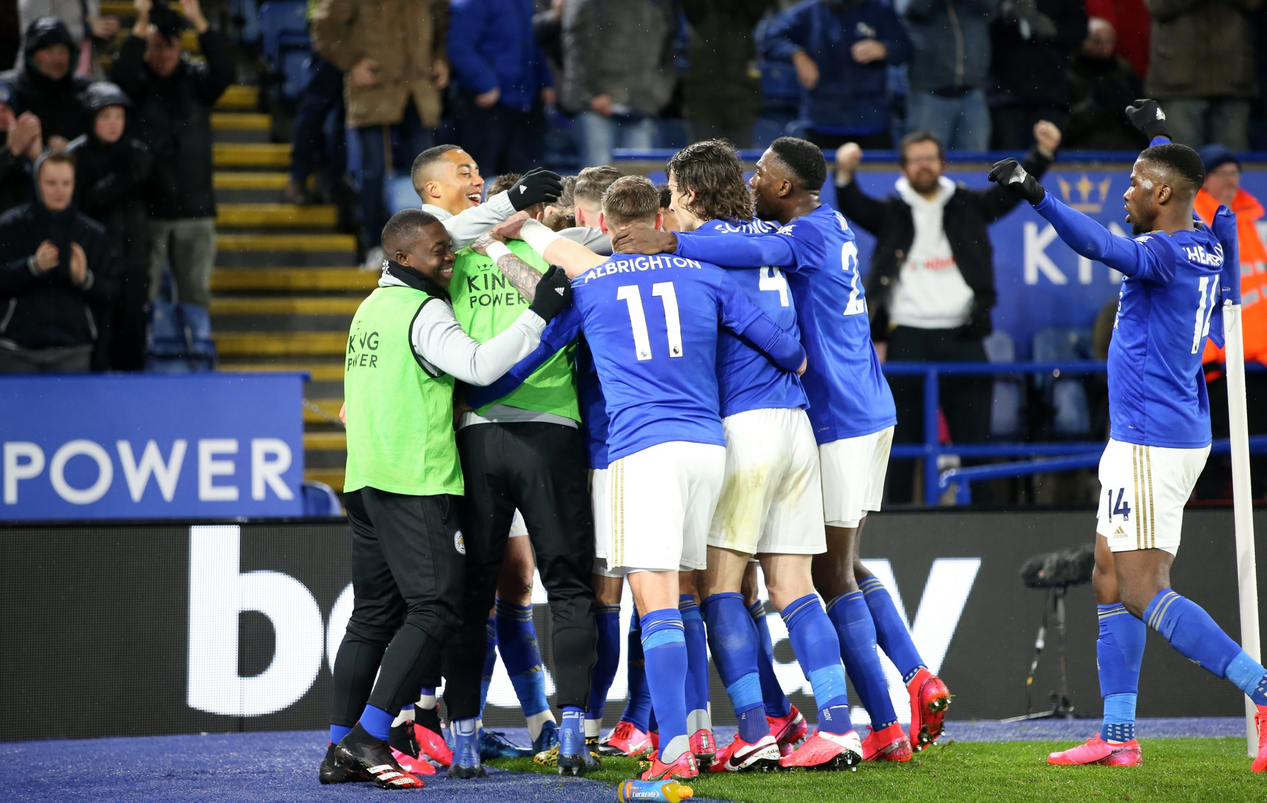 Ndidi, Iheanacho In Action As Leicester Thrash Villa To End Winless Run