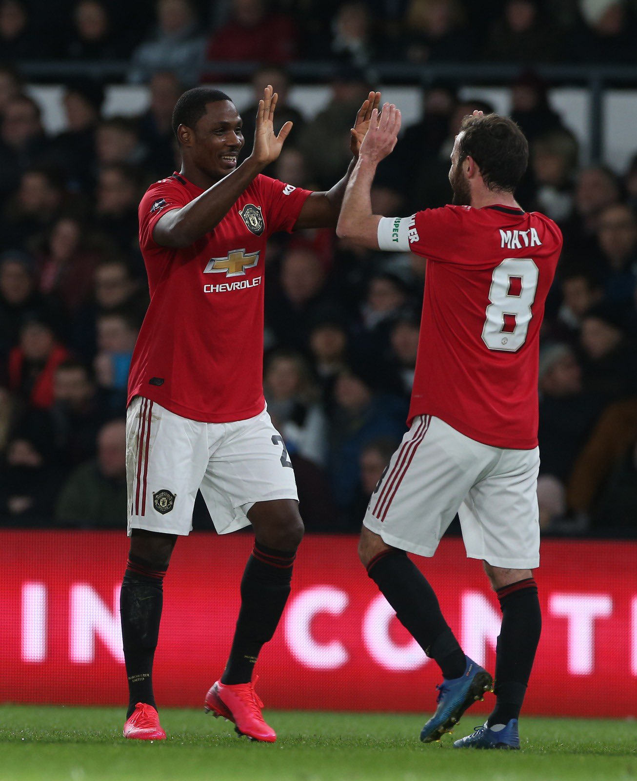 Ighalo Flaunts Special Bonding With The 'Loving Mata' At Man United