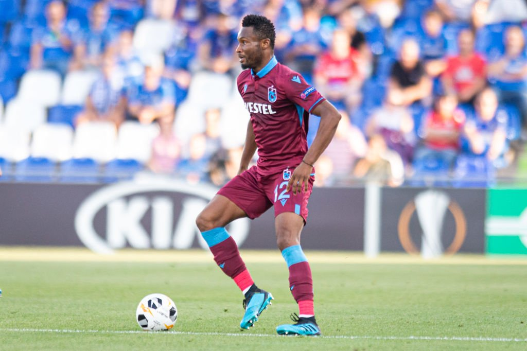 Mikel May Return To England After Trabzonspor Exit