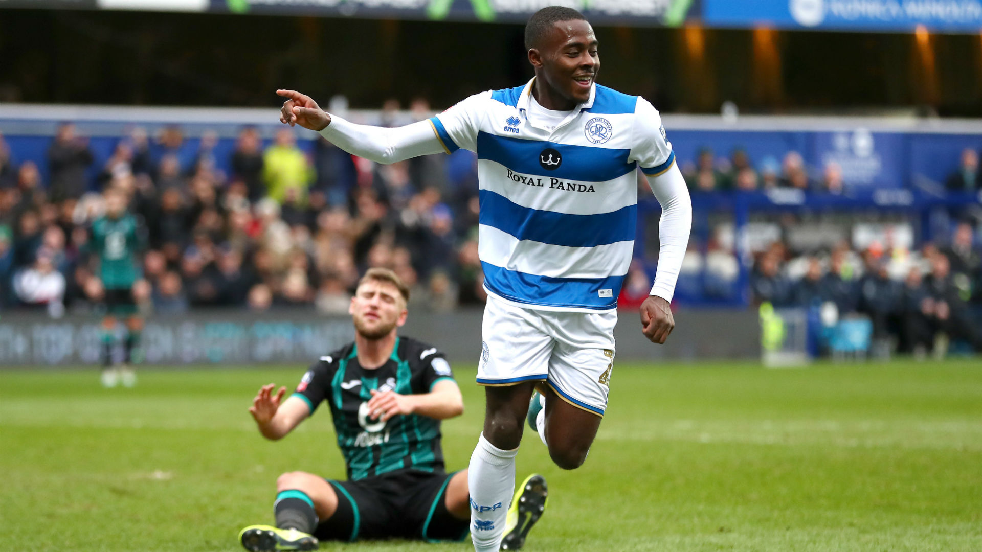 Osayi-Samuel Keen To Emulate QPR Legend Sinclair
