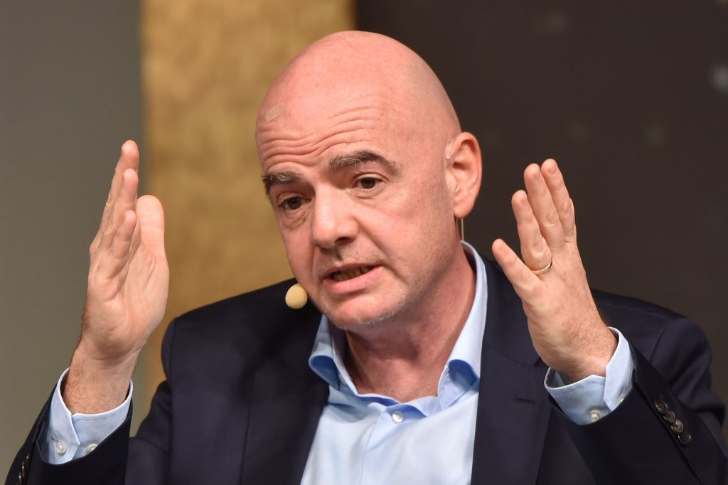 Infantino:  We Don't Know When Football Will Resume