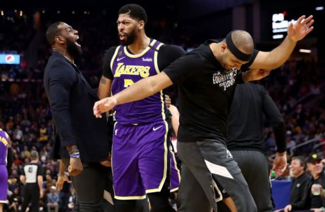 Lakers And Anthony Davis To Host Nets At STAPLES Center