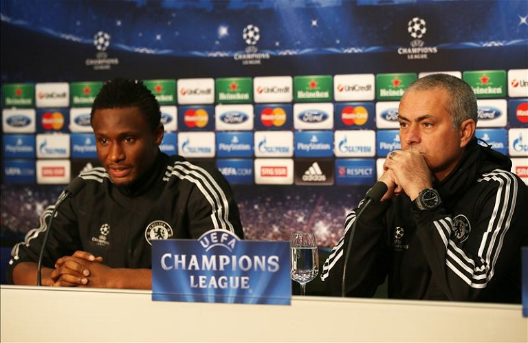 Mourinho Picks Best Ever XI Team Coached; Snubs Mikel