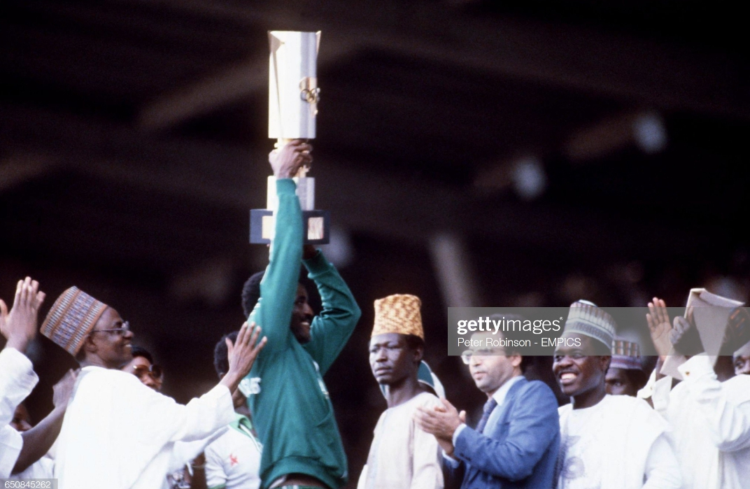 Dare, Amokachi Hail 1980 Green Eagles 40 Years  After Historic AFCON Title Feat