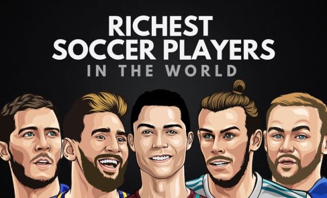Slide: Top 10 Richest Football Players In The World In 2019