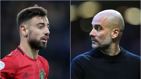 Man United's Fernandes Accuses Guardiola Of Disrespect During Manchester Derby