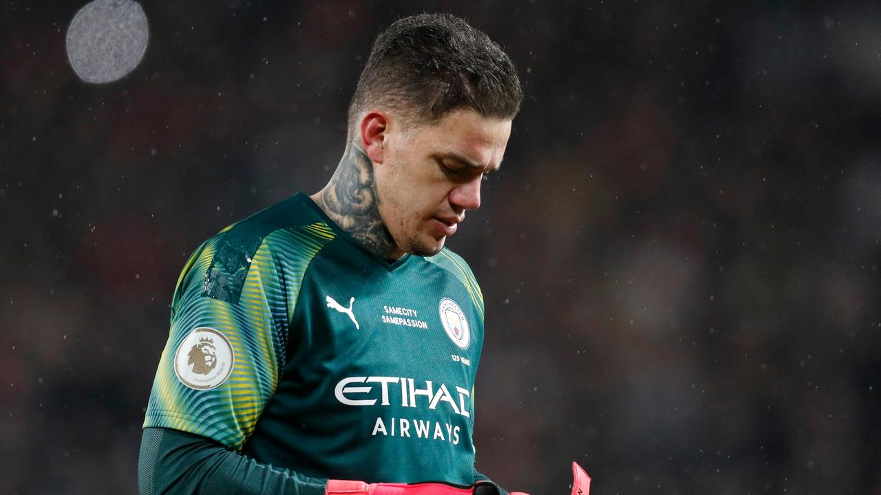 Guardiola Backs Ederson After Errors In Man City's Derby Defeat At Man United