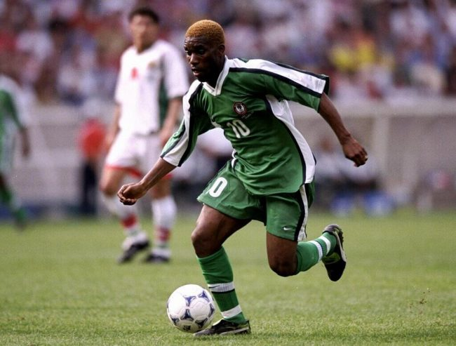 CAF: Okocha One Of Africa's Most Talented Dribblers